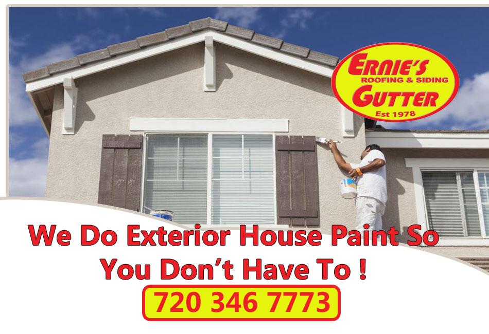 Exterior House Paint
